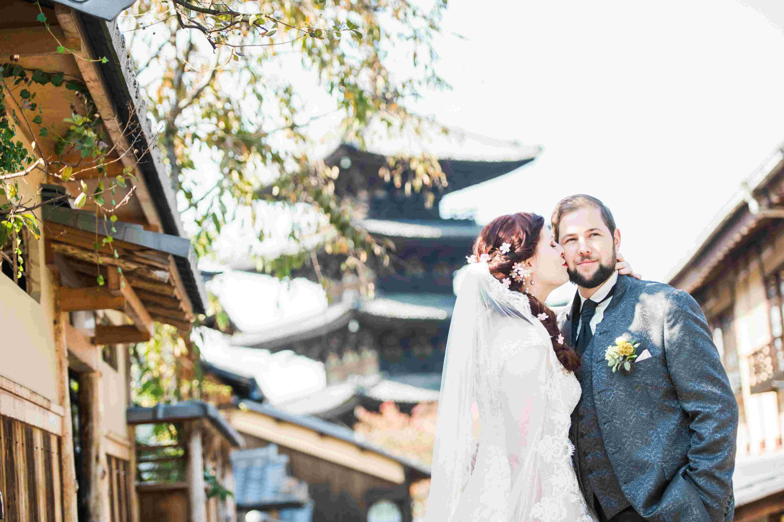 After Wedding Shooting in Kyoto